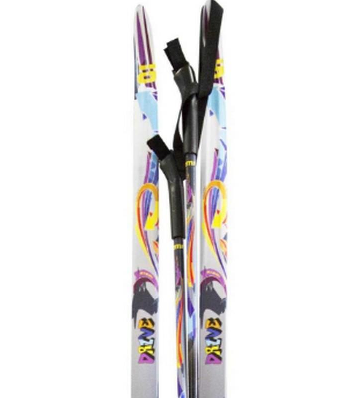 Лыжный комплект Atemi Drive Крепление: NNN, step