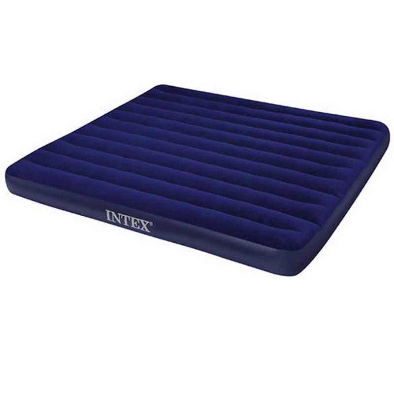 Надувной матрас Intex Classic Downy Bed, 152х203х22см 68759