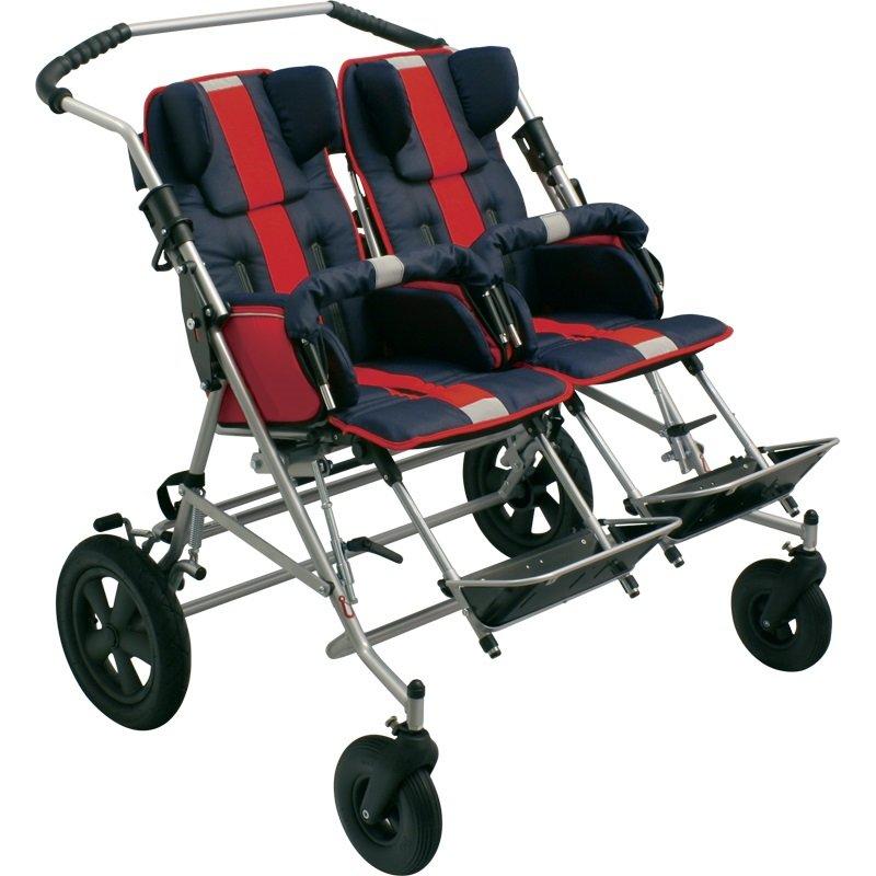 Кресло-коляска инвалидная детская для двойняшек Titan Deutschland Gmbh Patron LY-170-TOM 4 Xcountry DUO сиденья водительское для ваз 2112