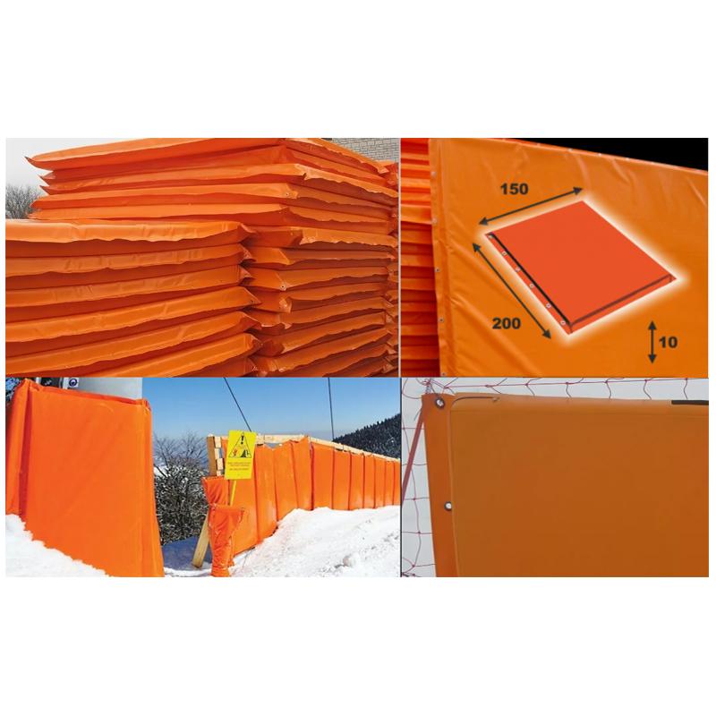 Купить Мат для горнолыжных трасс 200х150х10 см Dinamika Тент (ппу) люверсы ZSO-002889,