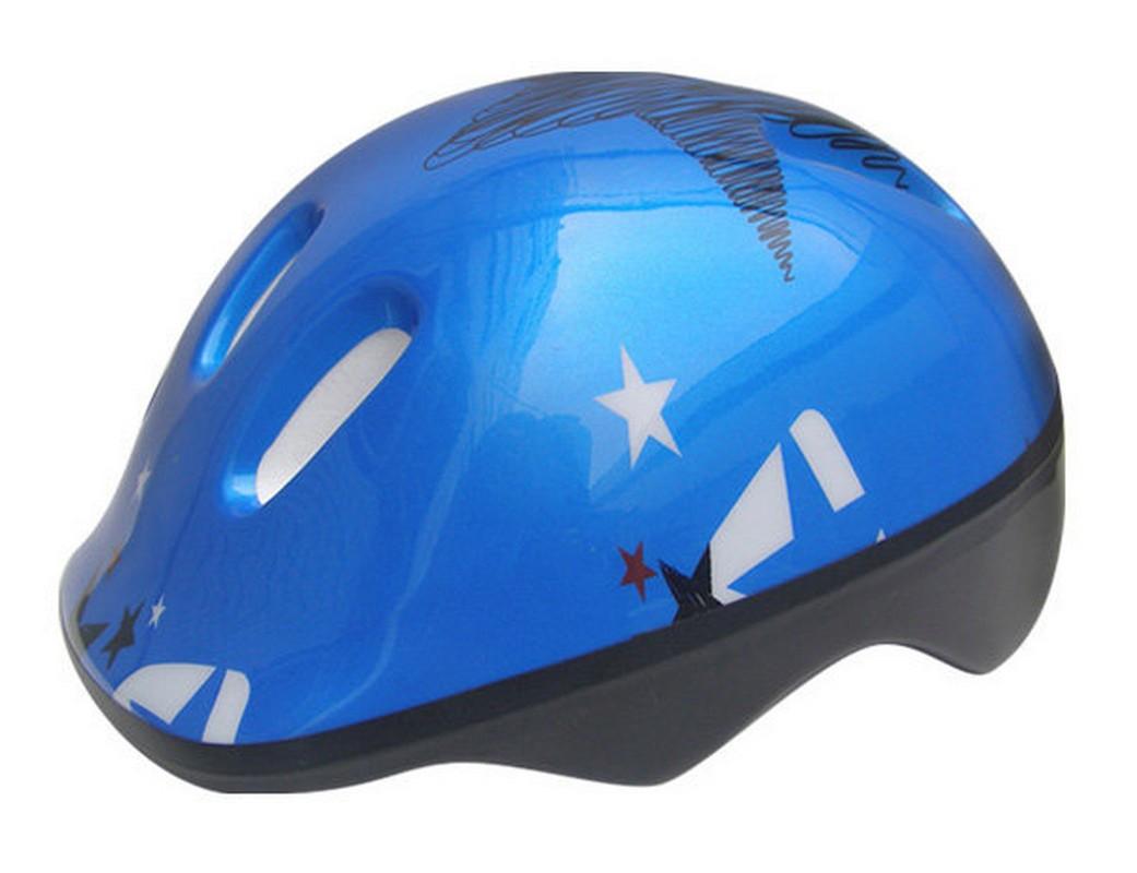 Шлем защитный Action PWH-45 (48-51 см) гол/бел/сер.