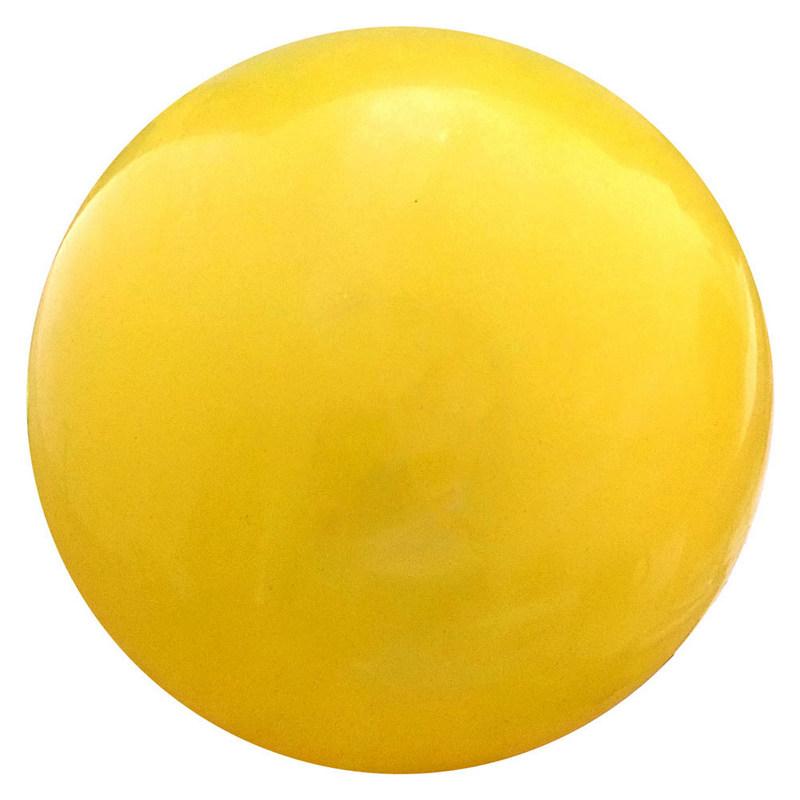 Купить Мяч для художественной гимнастики T07574 желтый с блестками, NoBrand