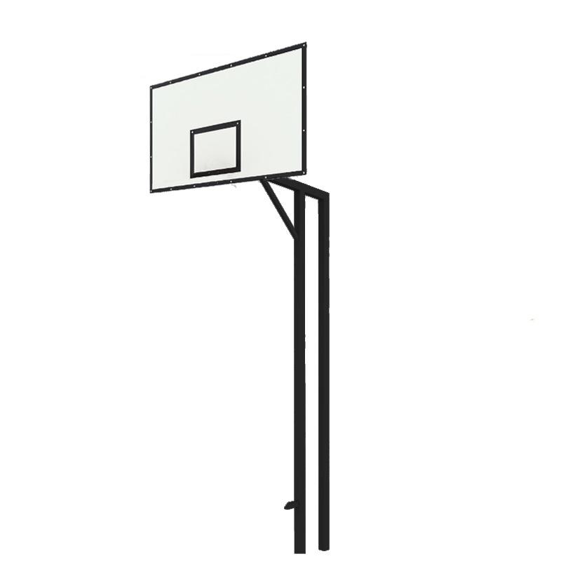 Купить Стойка баскетбольная двухопорная Dinamika под бетонирование вынос 1200 мм (уличная) ZSO-002819,