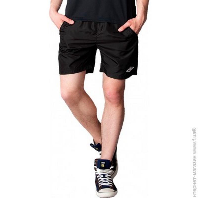 Шорты тренировочные Umbro TT Training Short мужские 323011 (611) чер/бел.