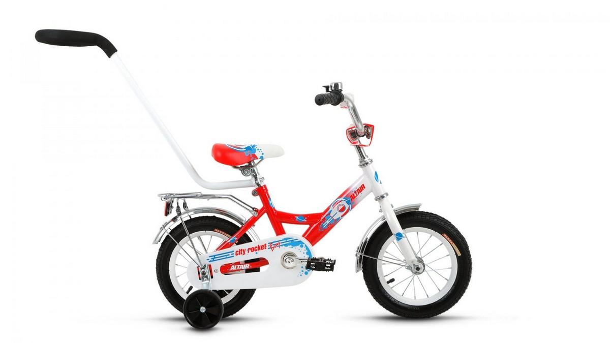 Детский велосипед Altair City Boy 12 (2017) белый-красный