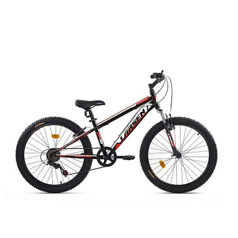 Велосипед Larsen Super Team 6ск, черный\красный от Дом Спорта