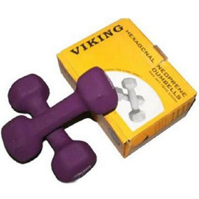 Гантели Viking неопреновые 2x1 кг (пара)