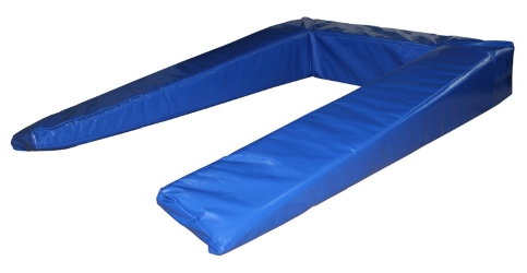 Купить Мат-обкладка, П-образный для мостика гимнастического 140х100х20 см ФСИ 7951,