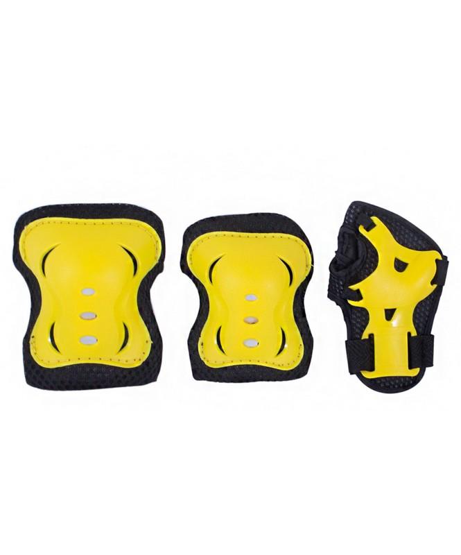 Комплект защиты Ridex Rocket черный-желтый