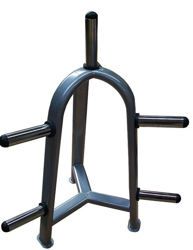 Стойка для олимпийских дисков Grome Fitness на 7 мест стойка для приседа grome fitness br 112