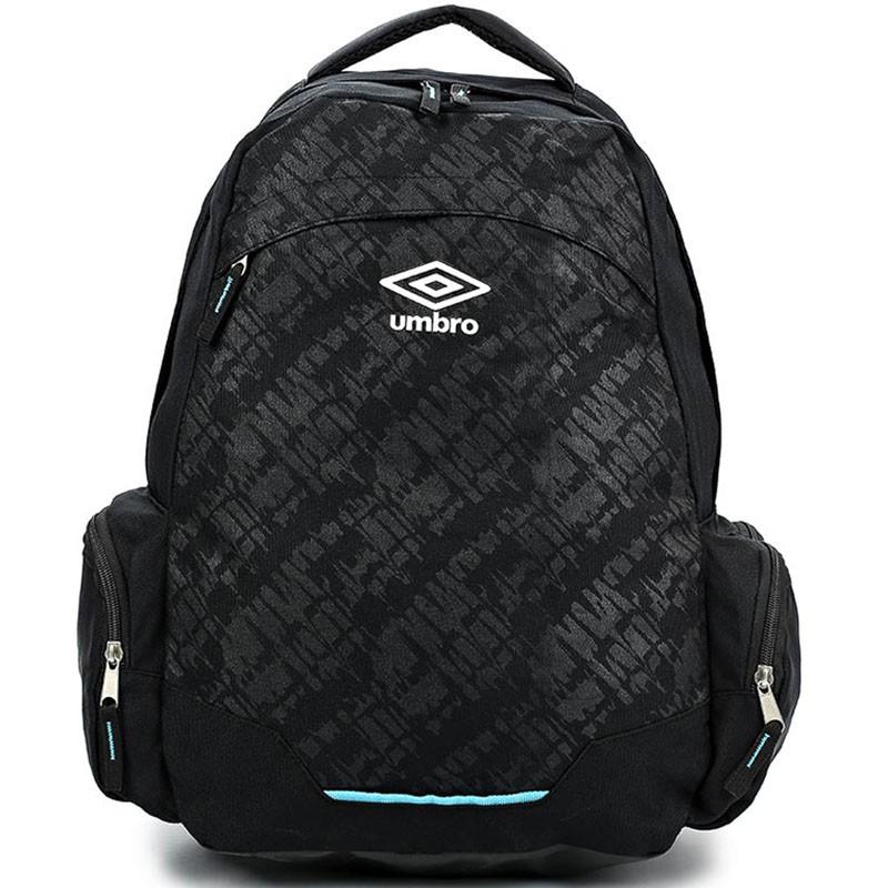Рюкзак спортивный Umbro Accuro Backpack два отделения, чер/графит/гол.