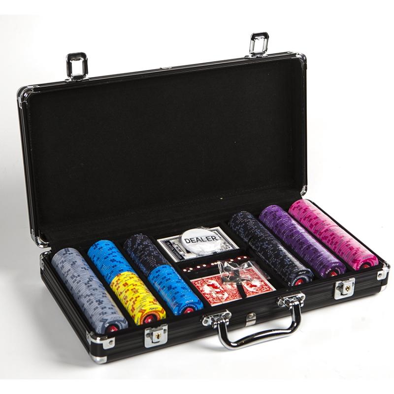 Набор для покера Russian Poker Tour RPT300 на 300 фишек с номиналом набор для покера empire 500