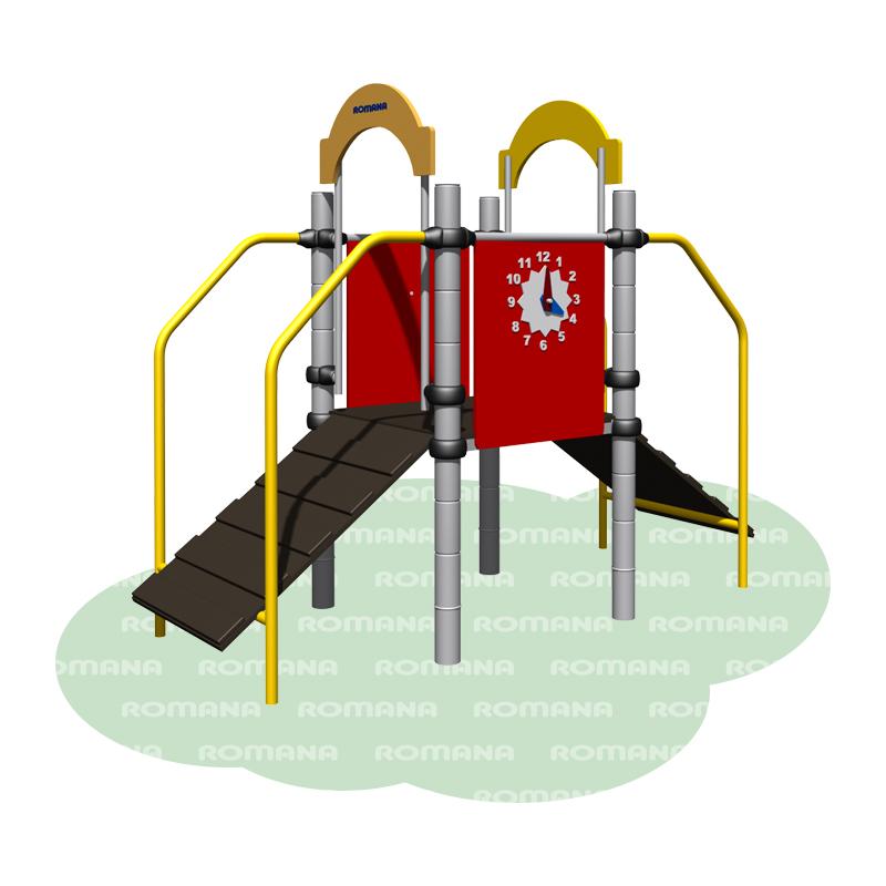 Купить Игровой комплекс Romana 104.04.00, Детские спортивные комплексы, площадки