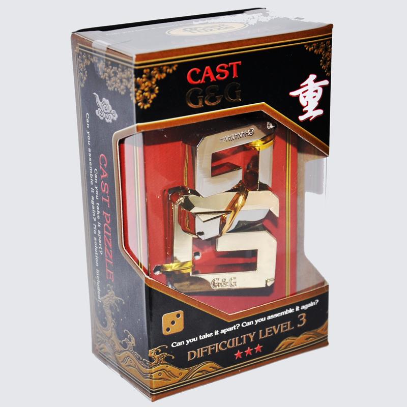Купить Головоломка Двойное Джи***/ Cast Puzzle G&G***, NoBrand