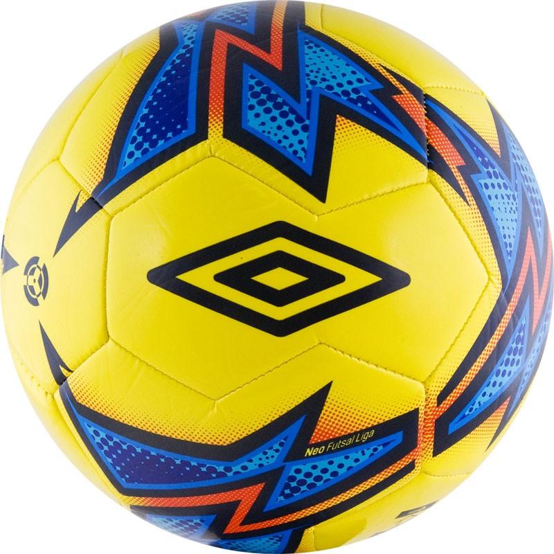 Мяч футзальный любительский р.4 Umbro Neo Futsal Liga 20871U-FCY мяч футзальный select futsal talento 11 852616 049 р 3
