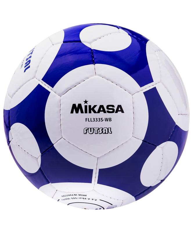 Мяч футзальный р.4 Mikasa FLL-333 S-WB мяч футзальный select futsal talento 11 852616 049 р 3