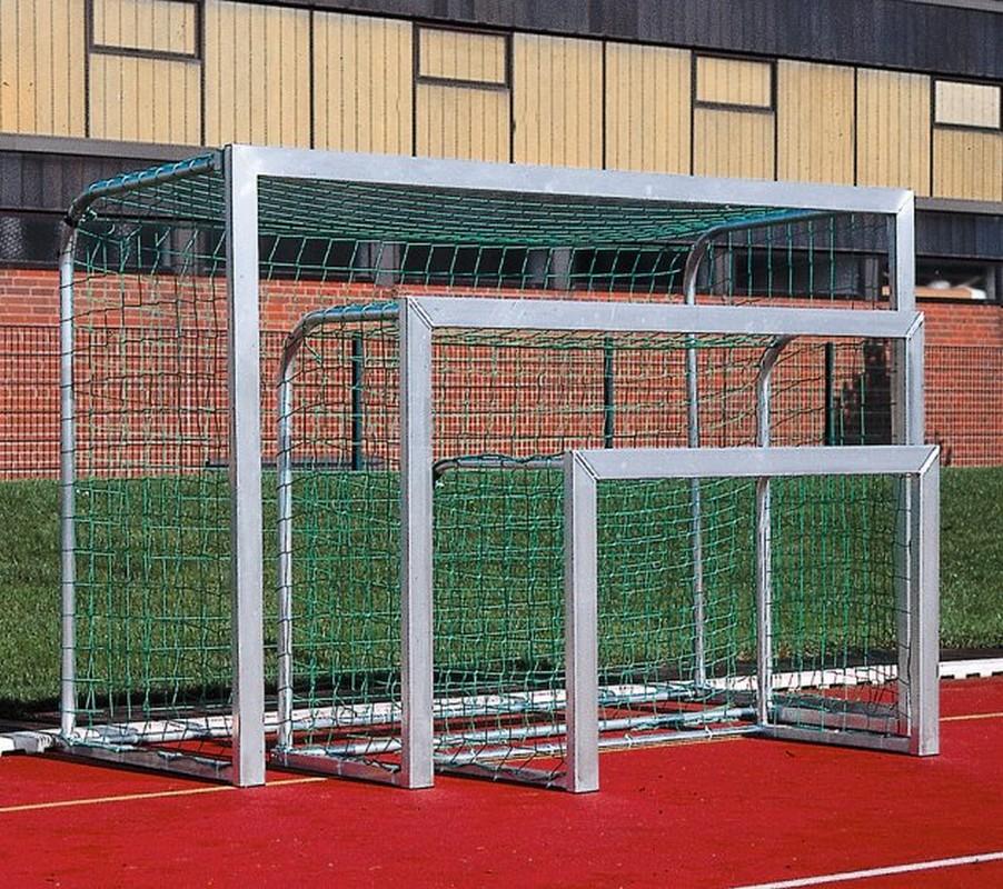 Купить Ворота для тренировок, алюминиевые, маленькие 1,80х1,20 м, глубина 0,7 м Haspo 924-192145,