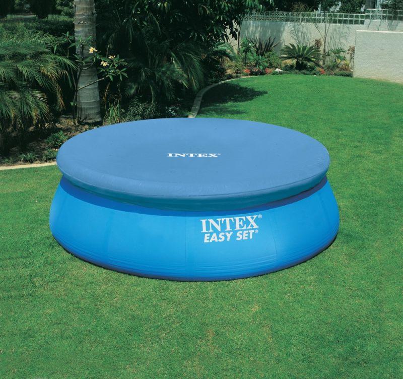 где купить Тент для круглого бассейна 366см Intex 28022 по лучшей цене