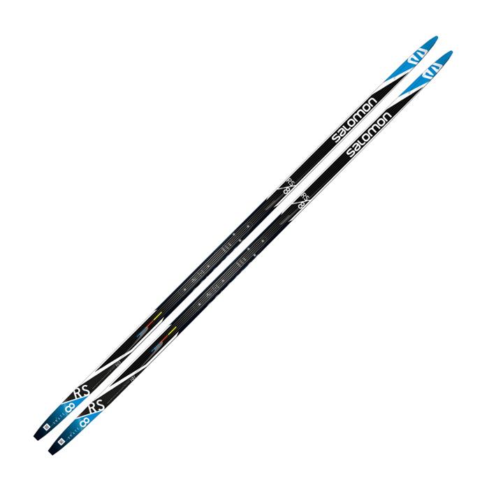 Лыжи беговые Salomon RS 8 (черно/синий) L40558300