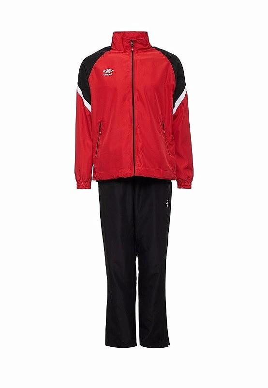Костюм спортивный Umbro Avante Woven Suit мужской 460117 (261) красн/чер/бел.