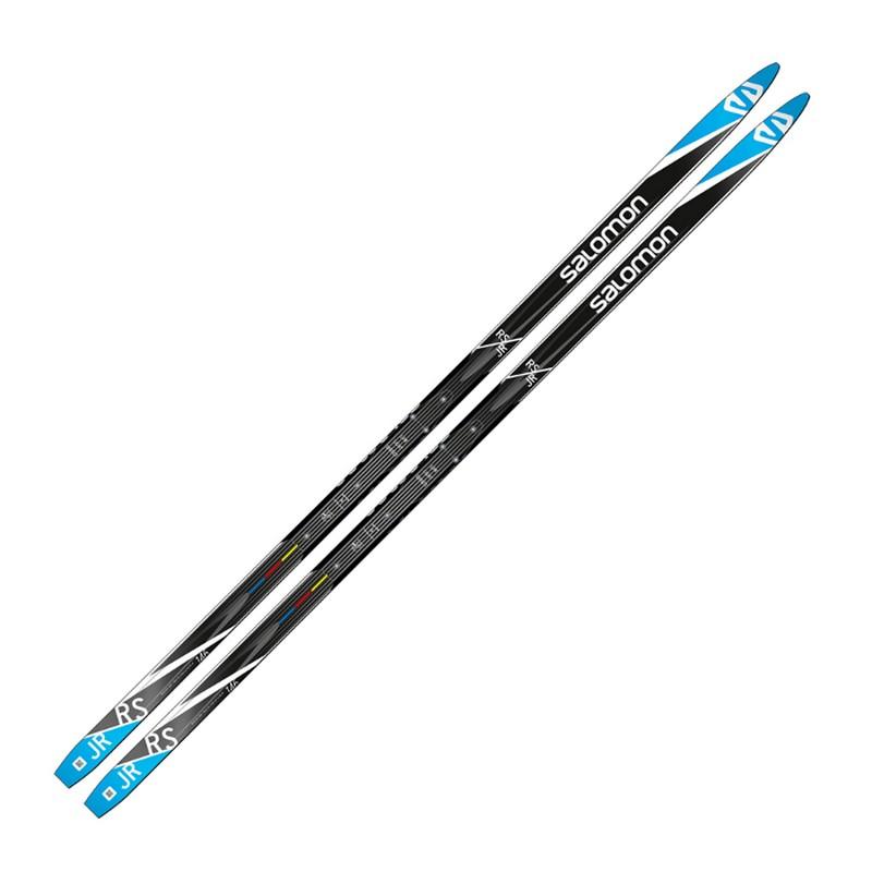 Купить Лыжи беговые Salomon RS Junior (черно/синий) L40889200,