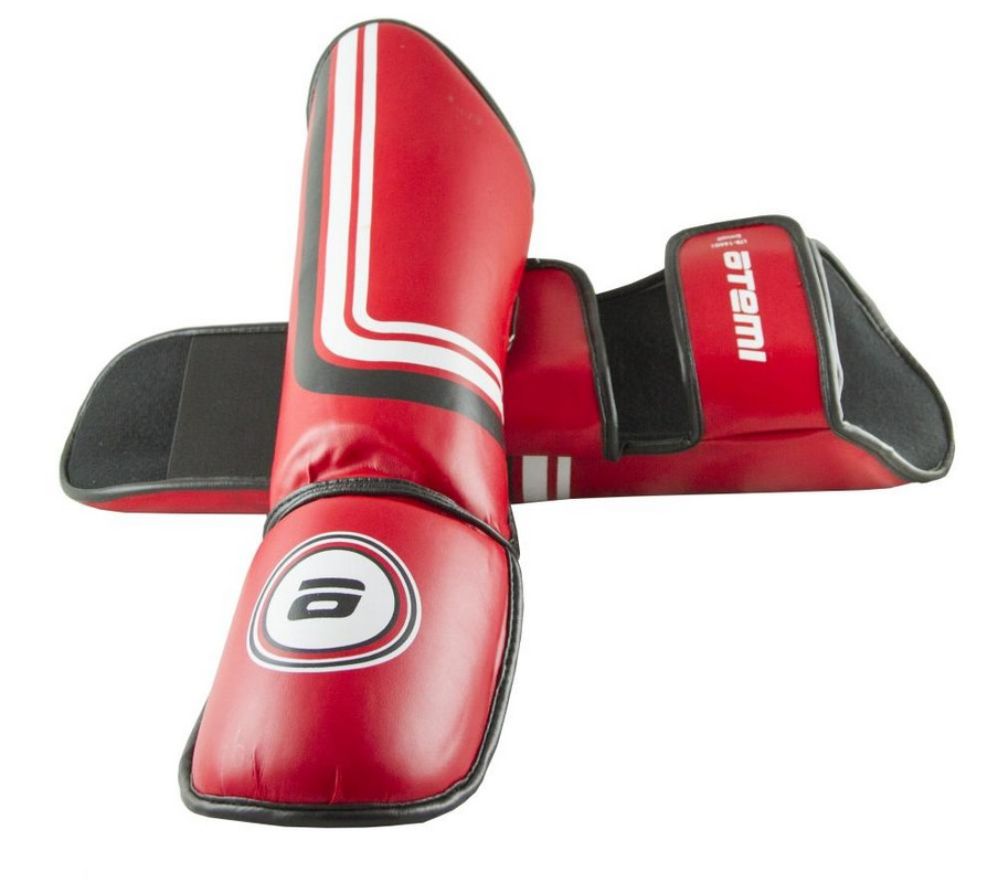 Защита голени и стопы Atemi LTB-16601 красный