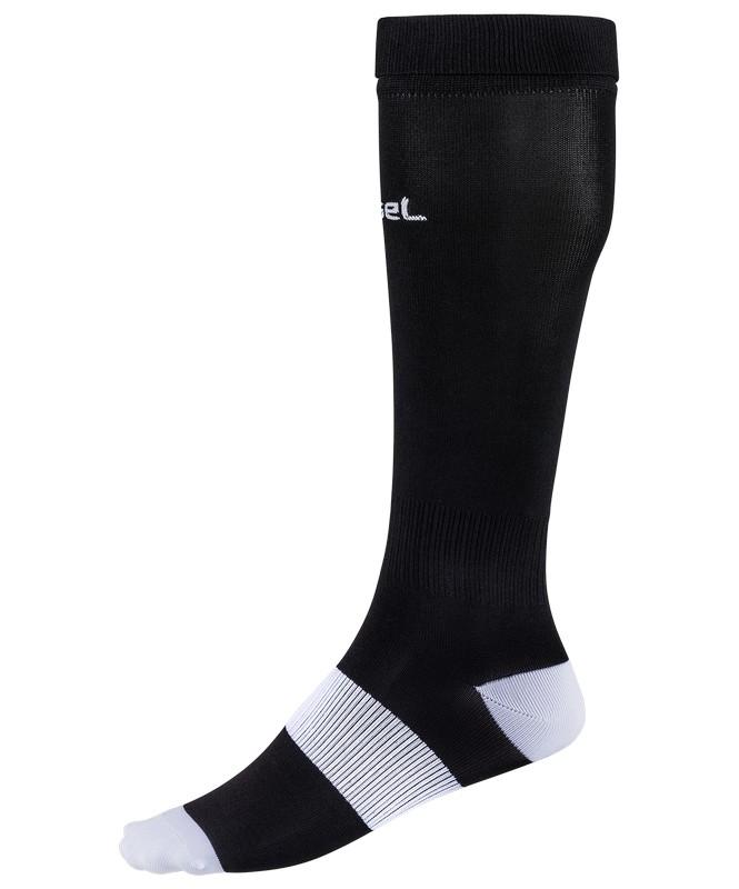 Гетры футбольные J?gel JA-001, чёрный/белый