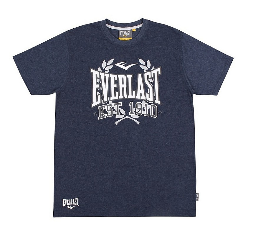 Футболка Everlast Sports Marl 1910 синий EVR9024 NAV