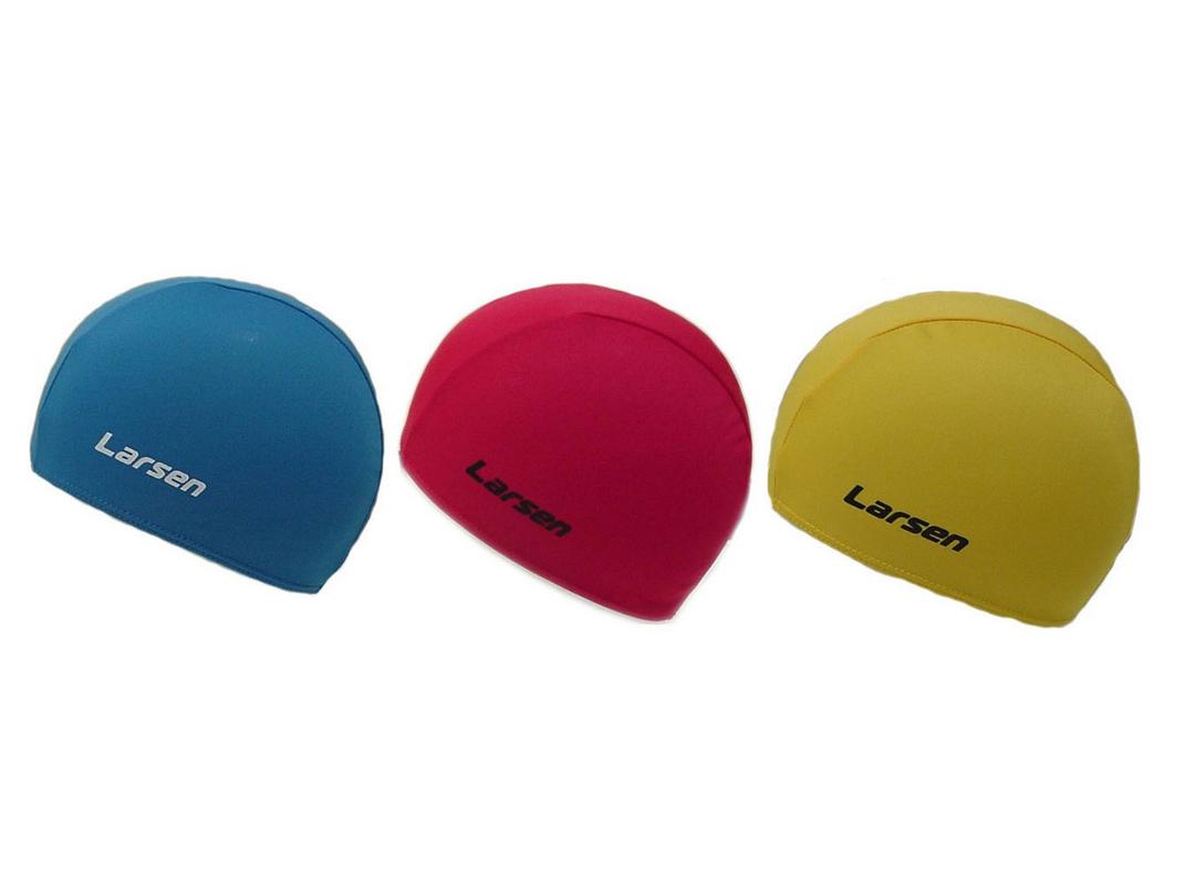 Шапочка плавательная Larsen 3220D (3 цвета) шапочка larsen 3220d yellow