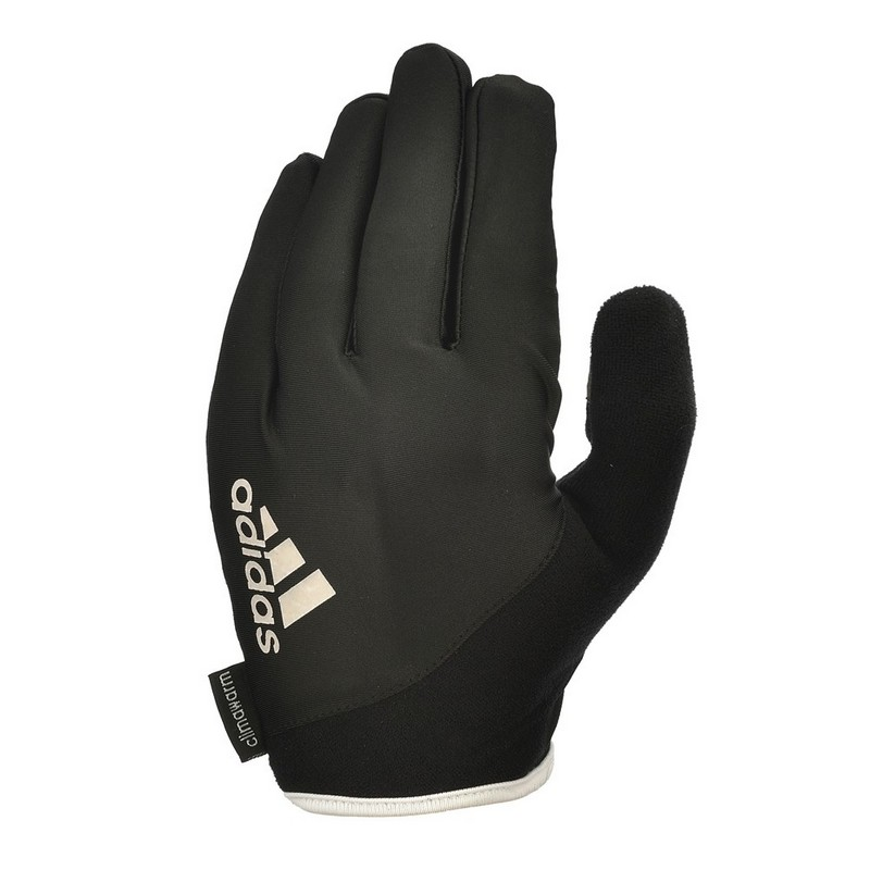 Перчатки для фитнеса Adidas Essential чернобелые ADGB-12421WH