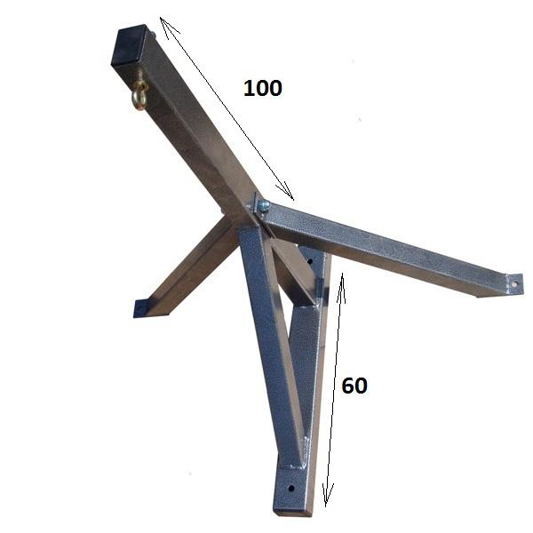Купить Настенная подвесная система усиленная 100 см Plastep Бокс-100,