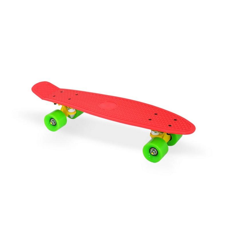 Купить Скейтборд пластиковый Moove&Fun 22 , красный MN-2206 red,