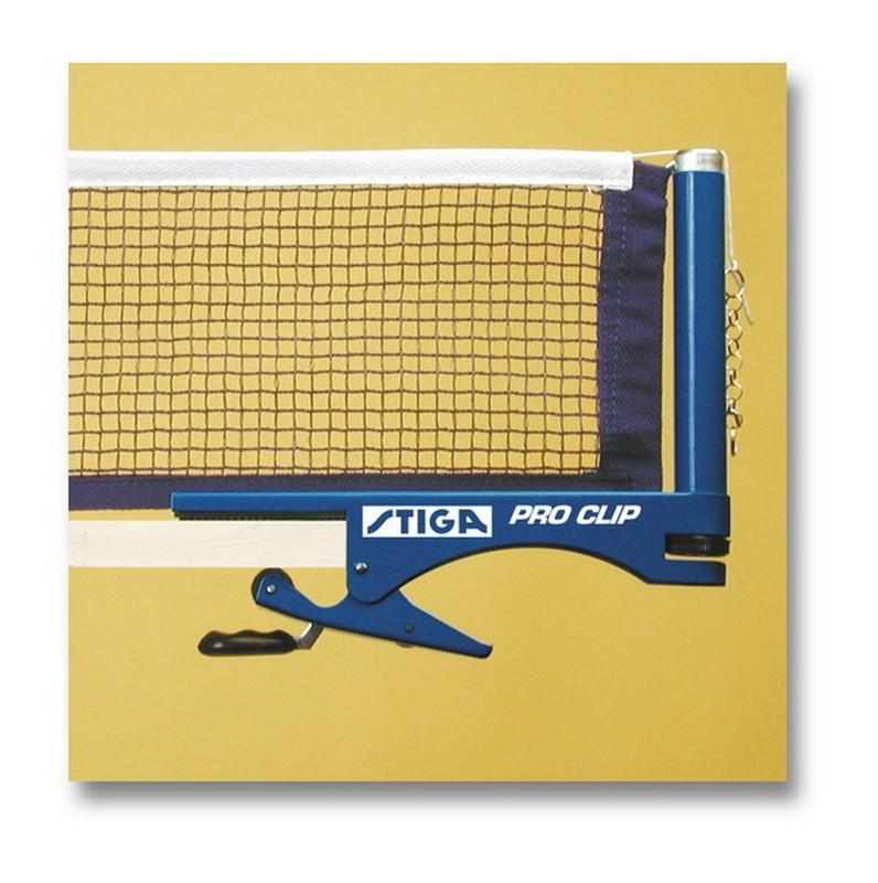 Сетка для настольного тенниса Stiga Pro Clip с креплением 6385-00 окучник stiga ств т 12 02 20 00 00