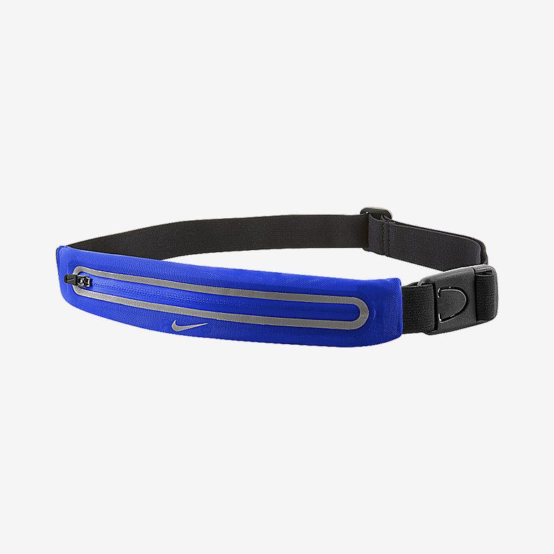 Пояс для бега Nike Lean Waistpack OSFM Paramount син/черн/серебр