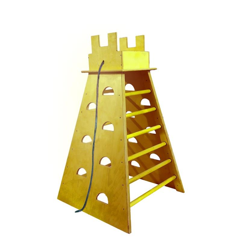 Купить Башня для лазания с канатом 90х90х150см Dinamika ZSO-002384,