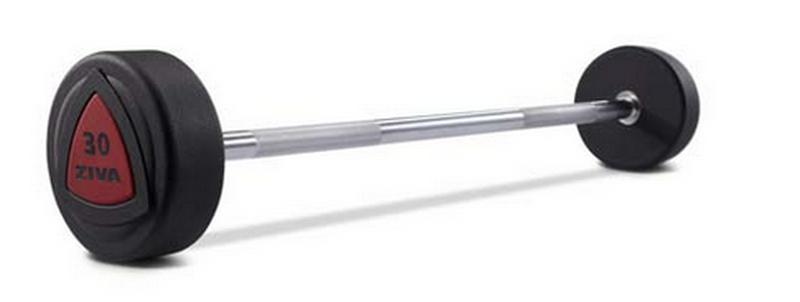 Штанги серии ZVO, уретановое покрытие, комплект 10-45кг. комплект Ziva ZVO-BSPU-1103 ziva zsc 057