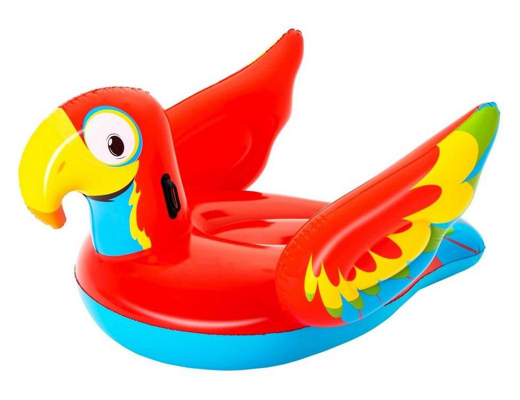 Купить Надувной плотик Попугай Bestway 203x132см 41127,
