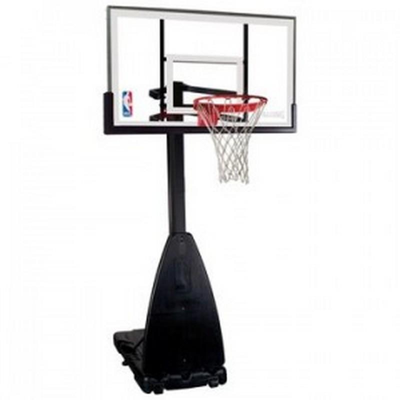 Баскетбольная стойка Spalding 68564CN Platinum 54 quot; spalding баскетбольная стойка spalding 2013 highlight 42 acrylic system