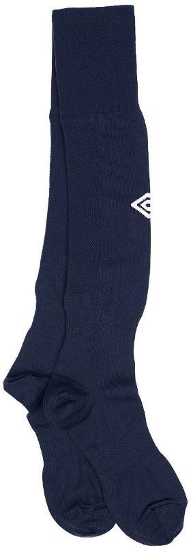 Гетры футбольные Umbro Mens Hose 140217-091 темно-синий/белый Senior.