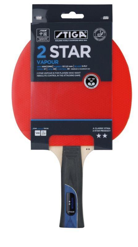 Ракетка для настольного тенниса Stiga Vapour WRB 2* stiga vapour