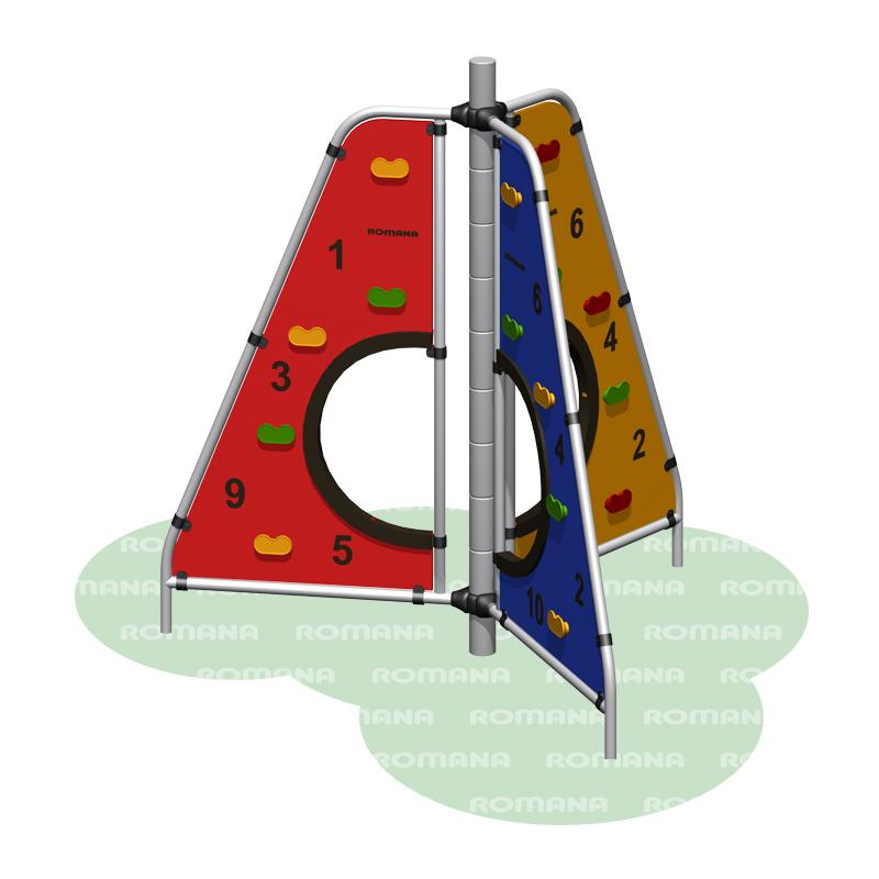 Купить Игровое оборудование Romana 401.16.00, Детские спортивные комплексы, площадки