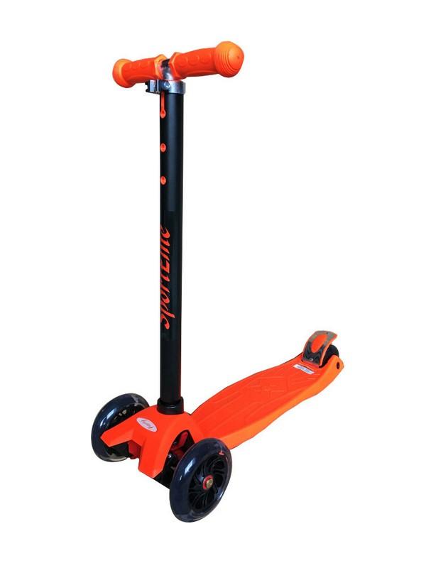 Купить Самокат Sport Elite 4-х колесный SE250, оранжевый,