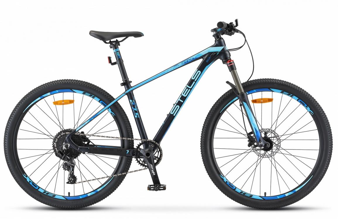 Купить Велосипед Stels Navigator 770 D V010 Тёмно-синий 27.5Ø 2020 (LU093098),