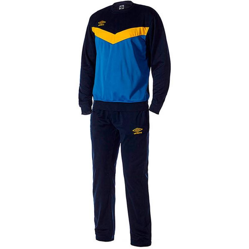 Костюм спортивный Umbro Unity Poly Suit мужской 353115 (793) син/т.син/жел.