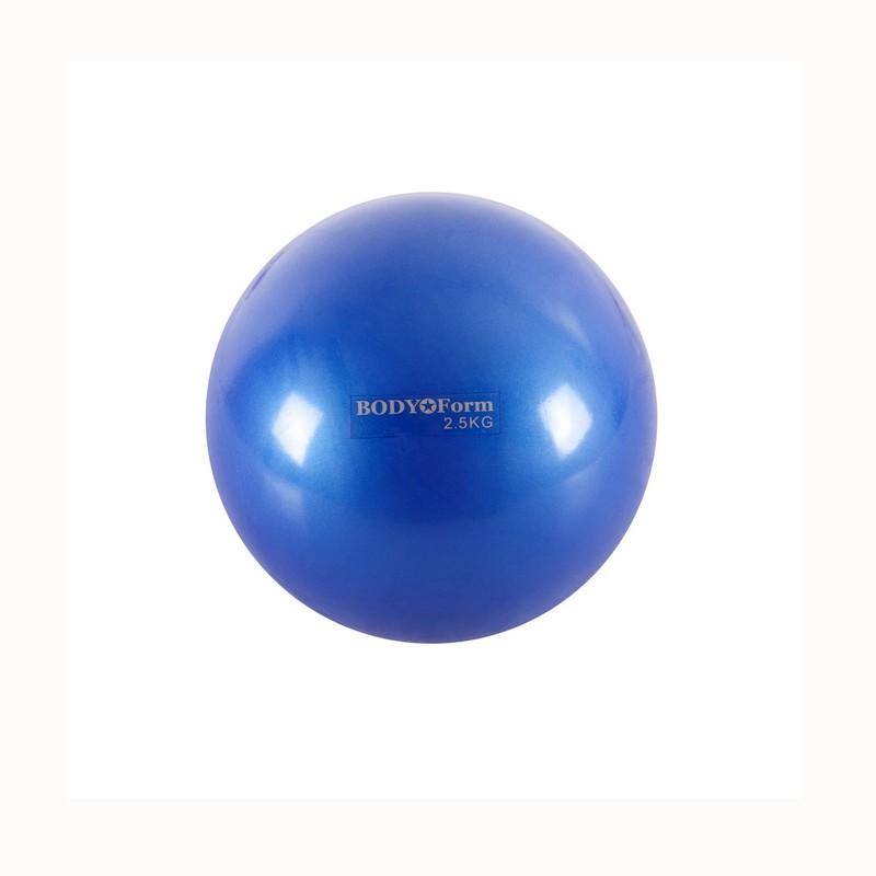 Мяч для пилатеса Body Form BF-TB01 2,5 кг D=15 см синий