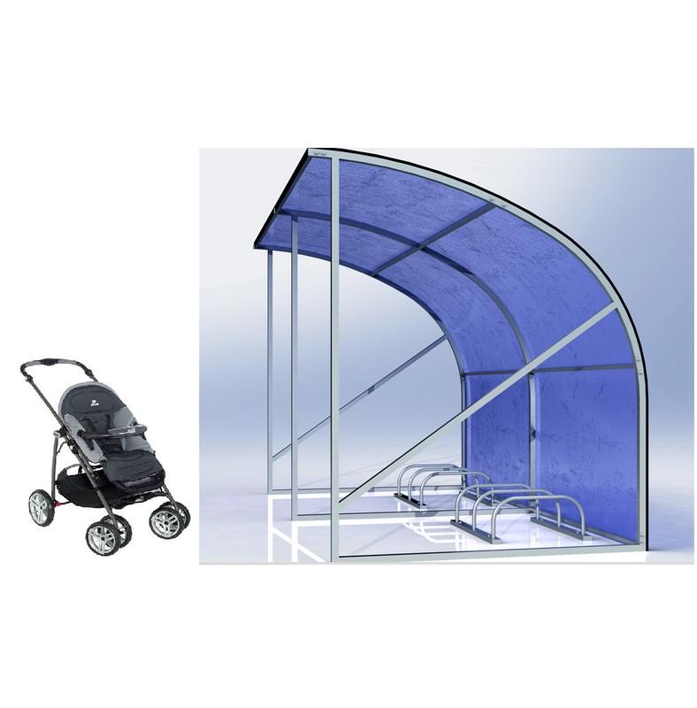 Парковка для детских колясок Hercules 4293