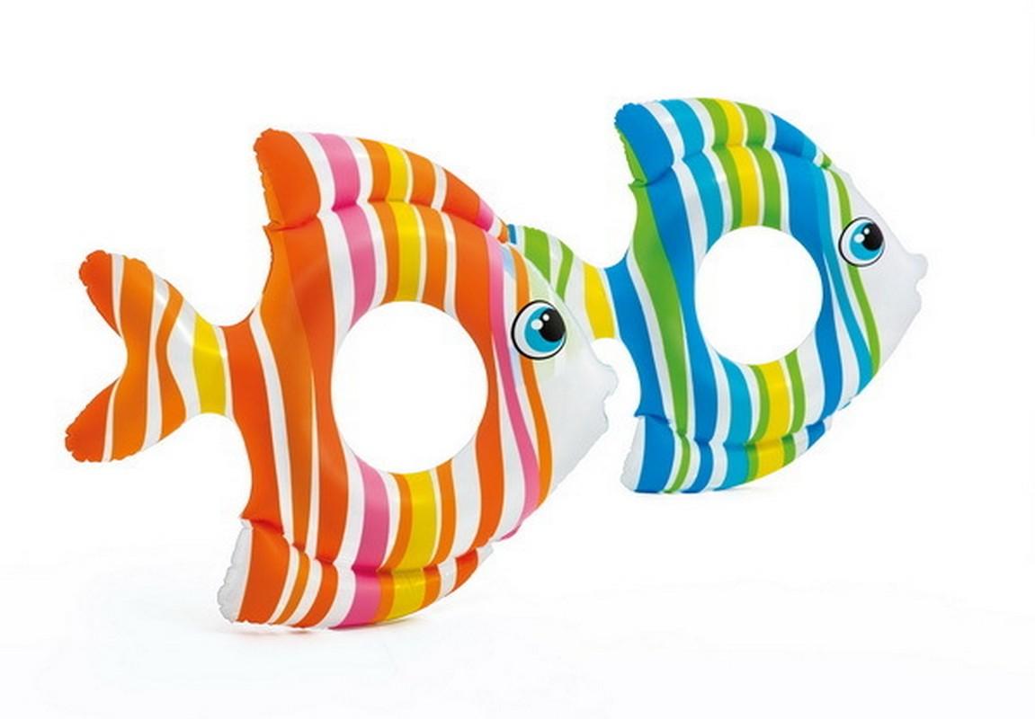 Круг для плавания Intex Тропические рыбки 83x81 см 59223