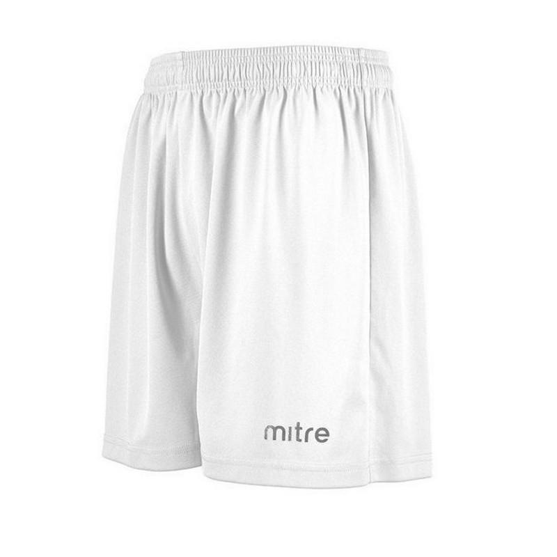 Купить Шорты игровые Mitre Metric T50101WA1 100% полиэстер, белый,