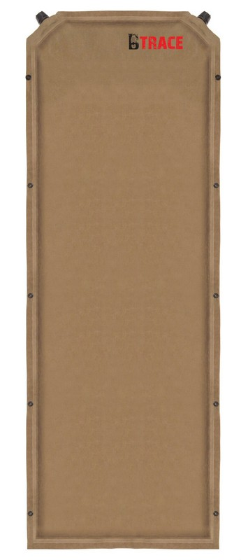Ковер самонадувающийся BTrace Warrm Pad 7 M0204 190х63х7см коричневый