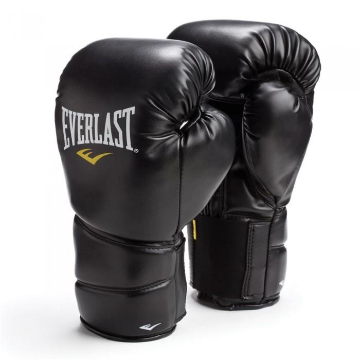 Купить Перчатки тренировочные Everlast Protex 2 8oz SM черный 3108SMU,